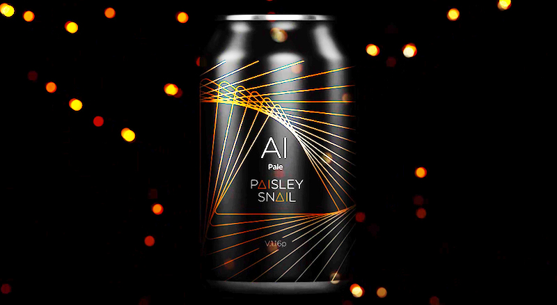 Legal Geek - Thomson Reuters - AI Paisley Snail Pale Ale