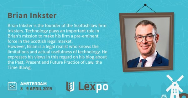Lexpo 2019 - Brian Inkster - Legal Tech Reality Check