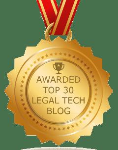 Legal Tech Top 30 Blog to Follow