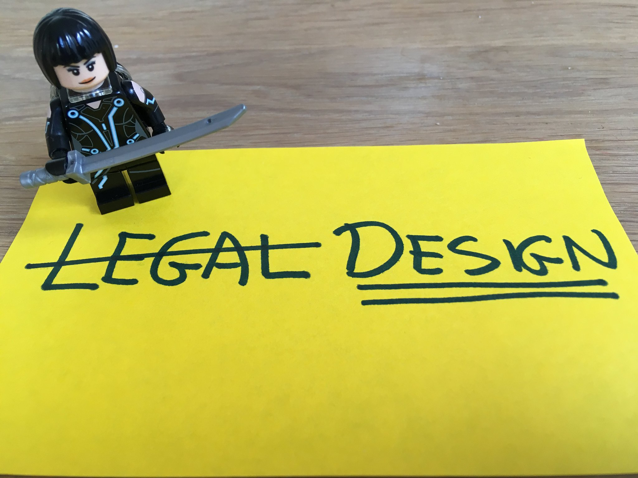 Legal Design without the Legal