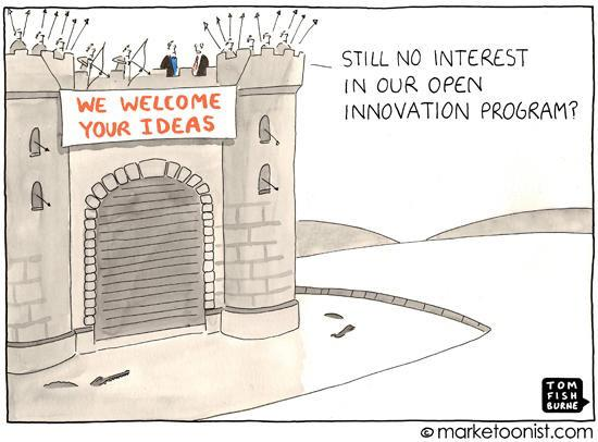 We welcome your ideas cartoon