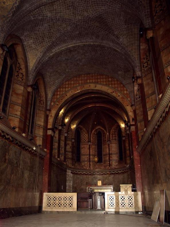 Fitzrovia Chapel (ex Middlesex Hospital Chapel), Pearson Square off Mortimer Street