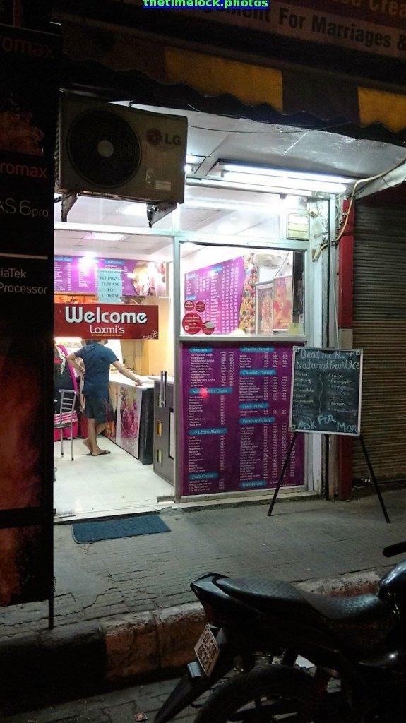 Entrance of Laxmi Ice Cream