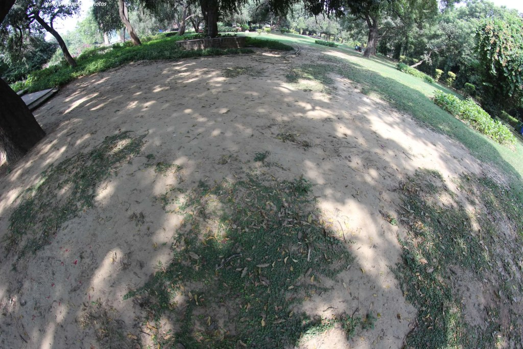 fish eye photo of shadows
