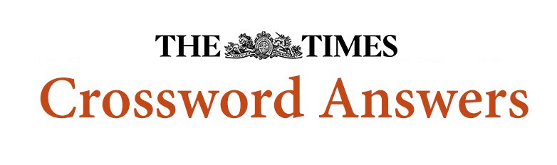 The Times Crossword Answers