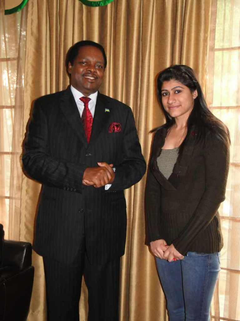 H.E. Mr. Williams NKURUNZIZA, Rwanda December 2, 2011P