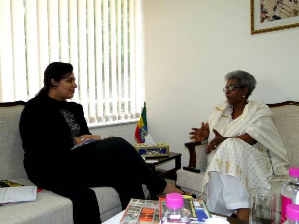 H.E. Mrs. Gennet Zewide, Ambassador, Ethiopia