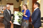 Motherland was launched by the Australian High Commissioner