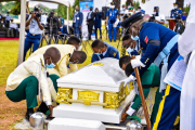 Naf Lays body of first female combat helicopter pilot flying officer Tolulope Arotile