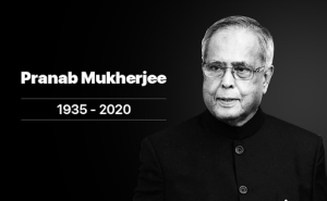 Pranab Mukherjee, former President of India