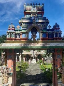 Celebrating Ugadi at Shri Venkateshwara Devasthanam, L'Escalier, Mauritius