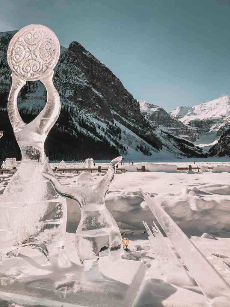 Ice Magic International Ice Carving Competition.