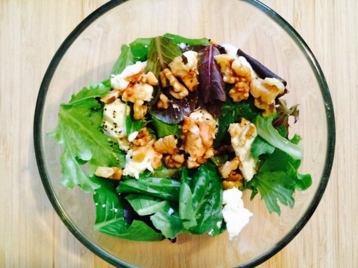 ricotta-walnut-salad