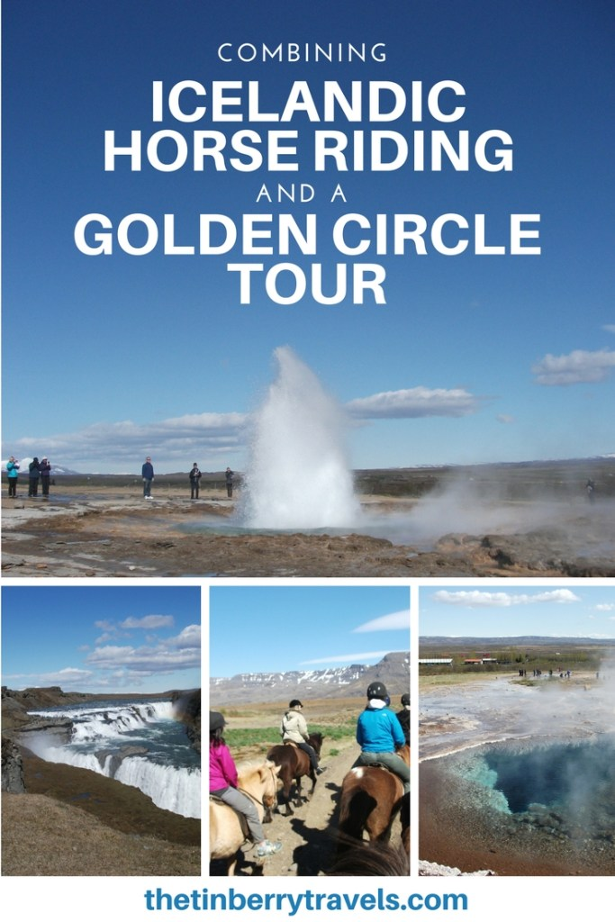 Iceland has a lot to offer but with so many tours it's easy to pack a lot into a single day. I combined Icelandic Horse riding with a tour of the famous Golden Circle to make an action packed Iceland adventure. | Tours in Iceland | Iceland Golden Circle | Icelandic Ponies| #Iceland #Europe