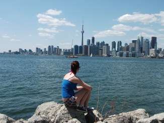 View of Toronto form Centre Islands