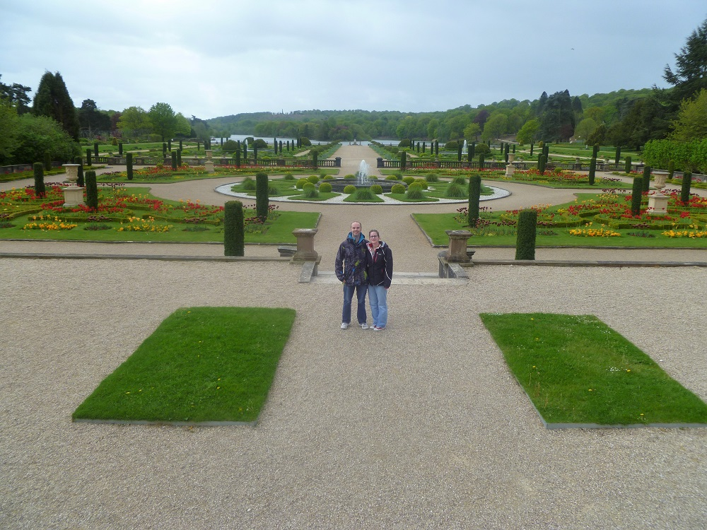 The Italian Gardens on the Trentham Estate