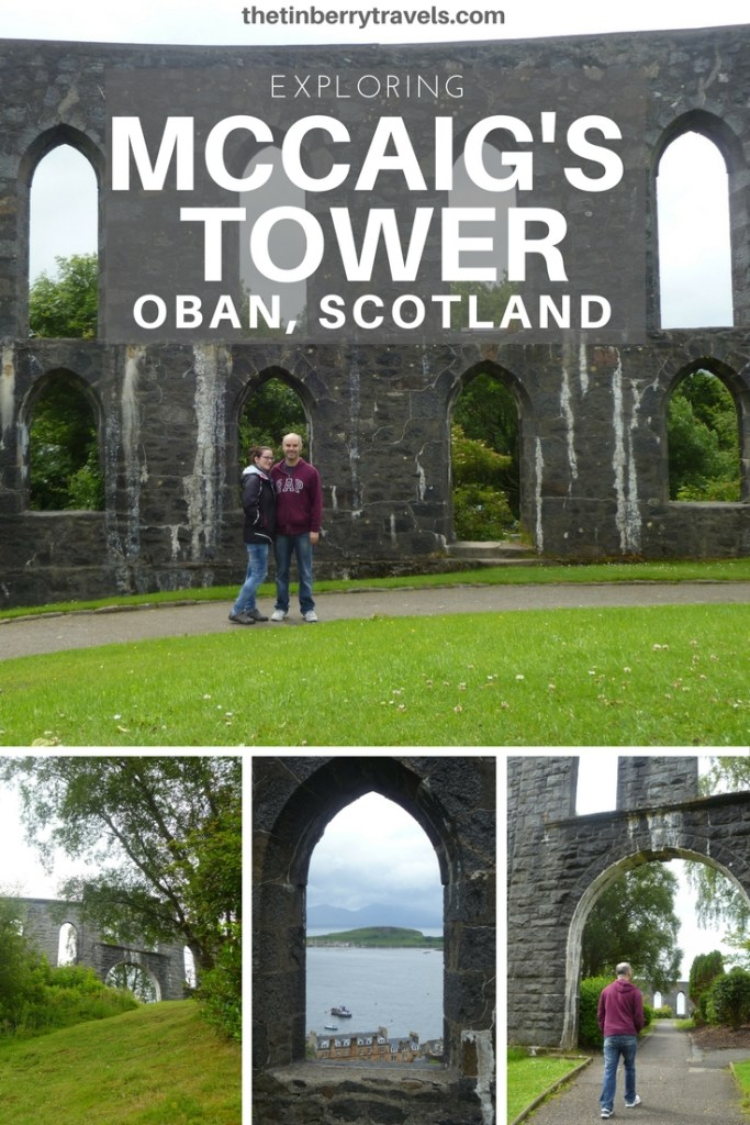 If you're short on time in Oban, Scotland make sure you visit the town's most prominent landmark - McCaig Tower!