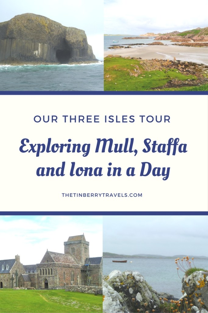 Looking for a Western Isles day tour? We joined the Three Isles Tour run by West Coast Tours to take in the sights of Mull, Staffa and Iona. #Scotland