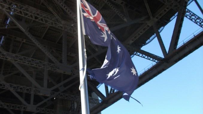 Australian Word and Phrases Aussie Flag