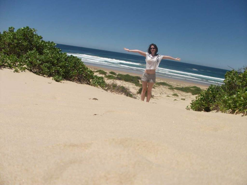 One Mile Beach, Port Stephens in New South Wales
