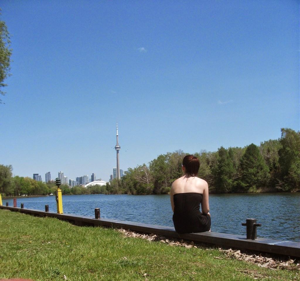 View of the Toronto Skyline from Toronto Islands
