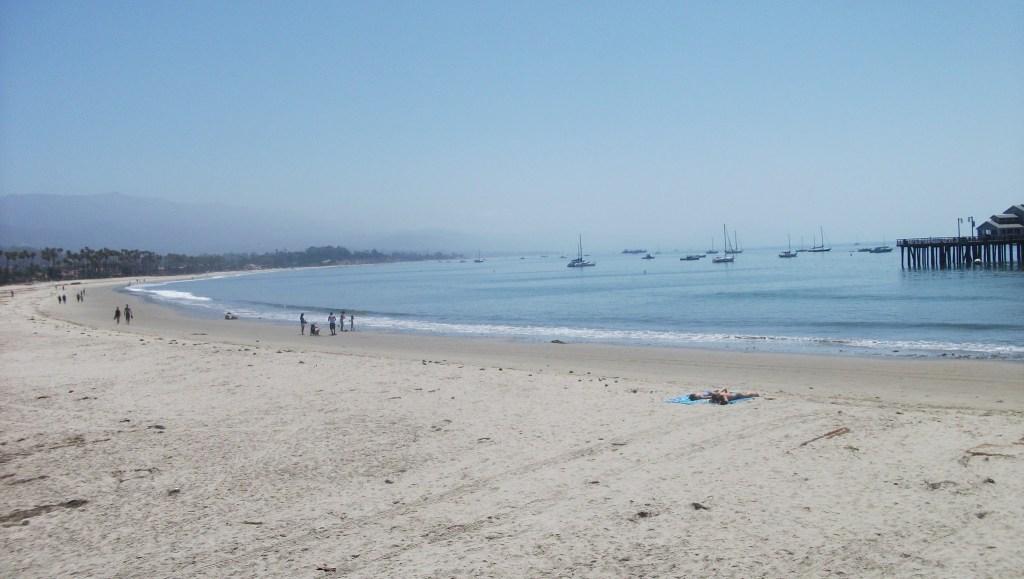 Santa Barbra beach