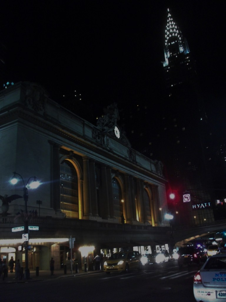 Grand Central Station and the Chrysler Building, New York