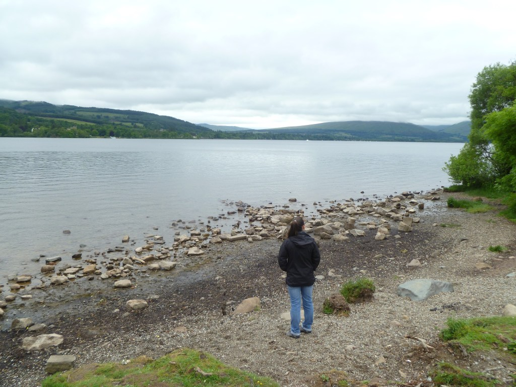 Viewing Loch Lomond from Balloch