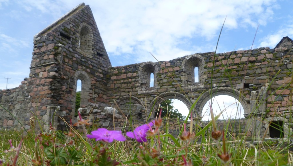 Iona Nunnery visited during out Three Isles Tour with West Coast Tours