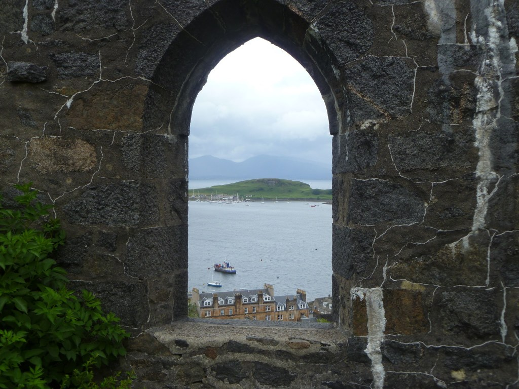 Views out to sea from McCaig's Tower