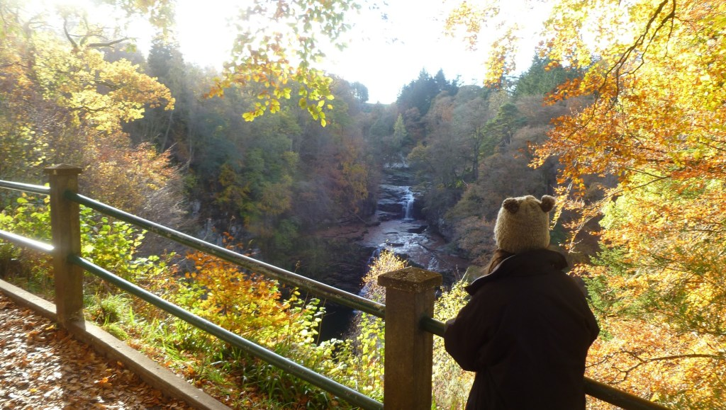 Falls of Clyde near New Lanark World Heritage Site