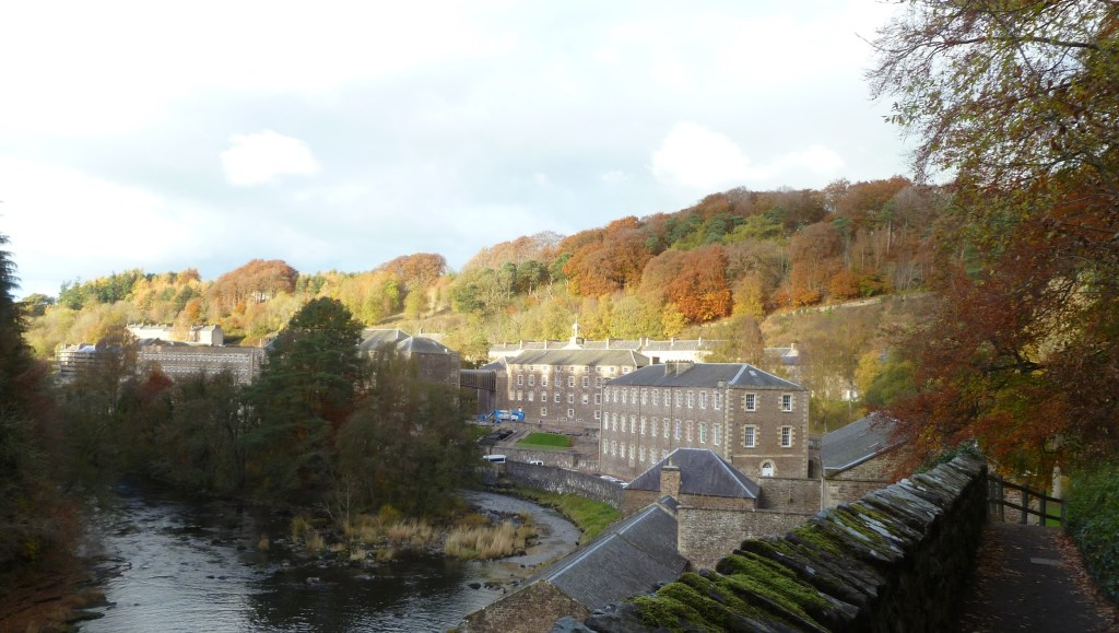 Autumn Colours over New Lanark Mills