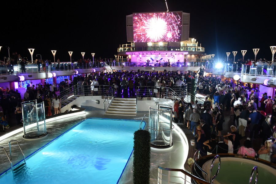 New Years Eve at Sea
