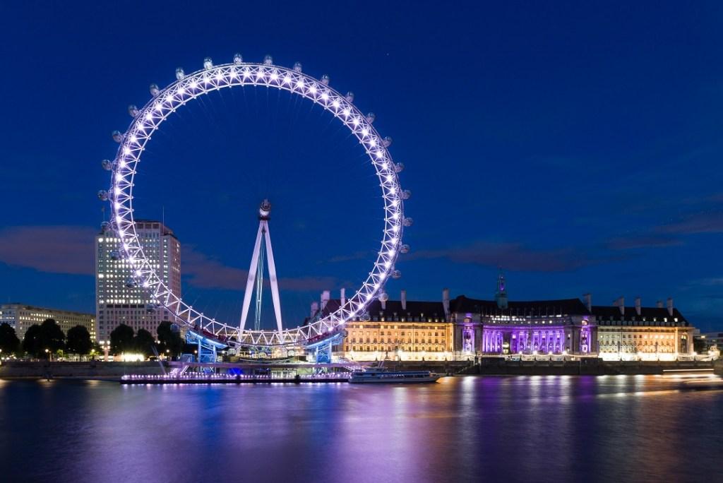 Celebrating New Year in London