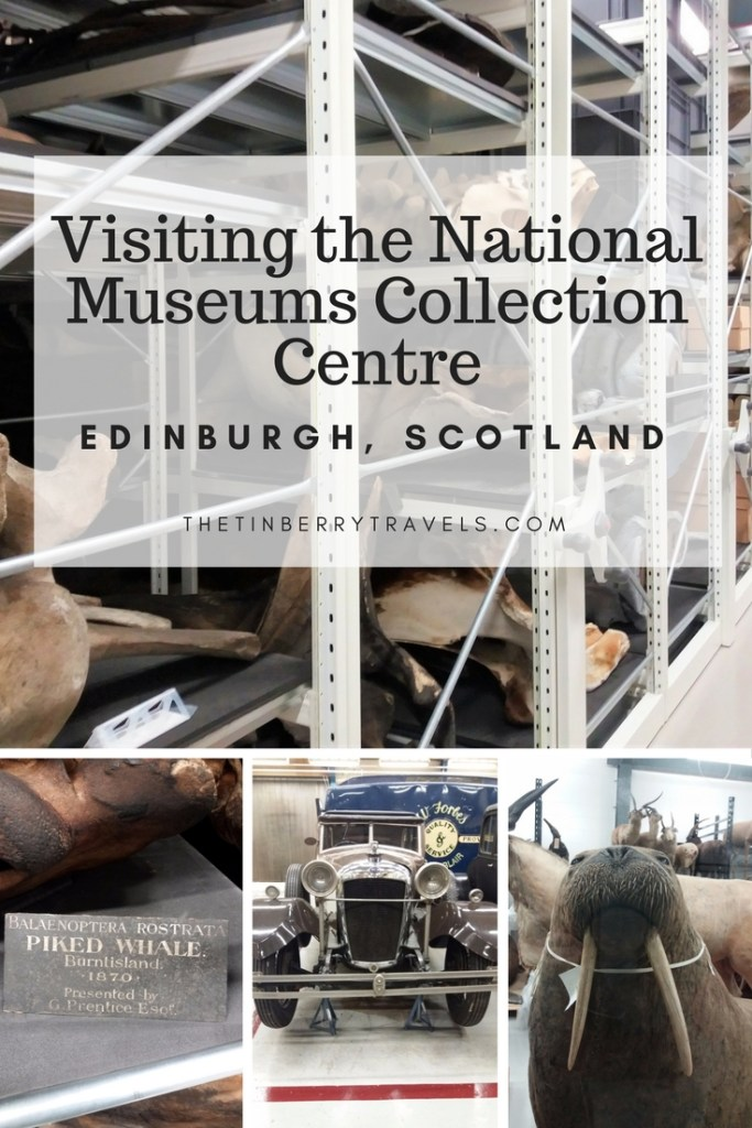 What's it like to visit behind the scenes in a museum? I went along to the National Museums Collection Centre in Edinburgh to explore the off-show artifacts. | #Edinburgh #Scotland #Museums #TravelInScotland