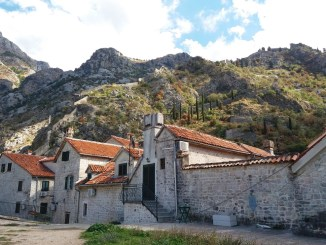 Buildings in Kotor Montenegro