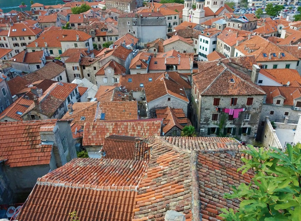 Red Roofs of Kotor Old Town, Montenegro