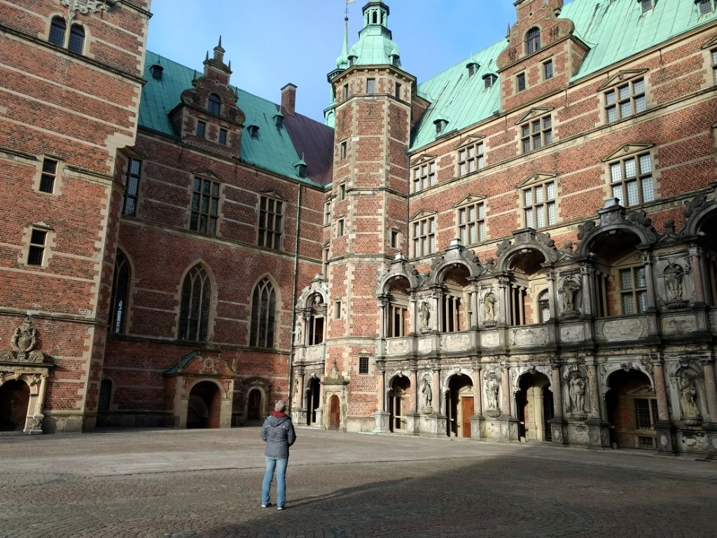 Frederiksborg Slot in Hillerod is included in the Copenhagen Card
