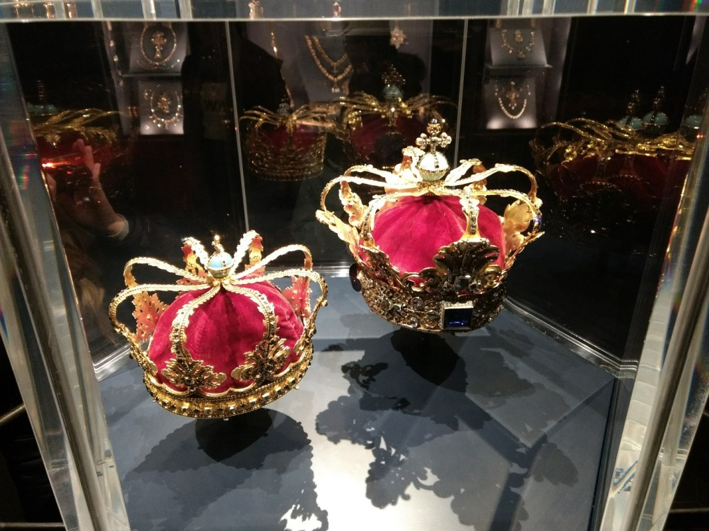 Rosenborg Palace Crowns