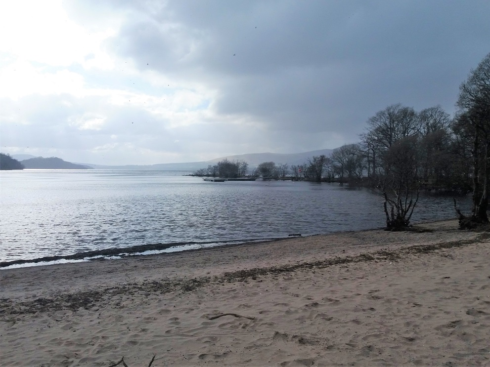 Inchcailloch Island Port Bawn in Loch Lomond and the Trossachs National Park