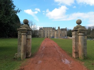 Kinneil House Entrance