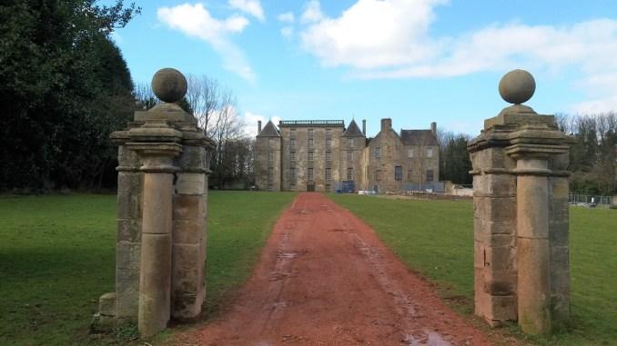 Kinneil House Entrance