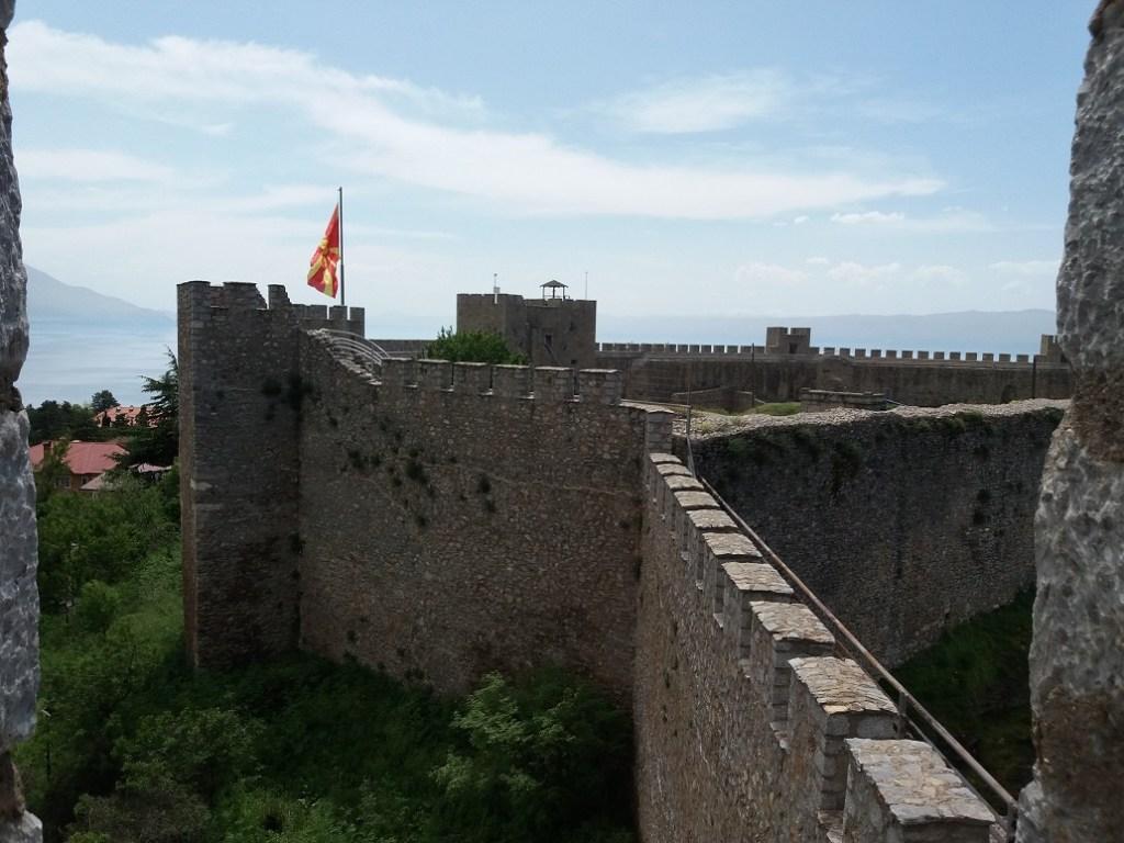 Samuel's Fortress in Ohrid Macedonia