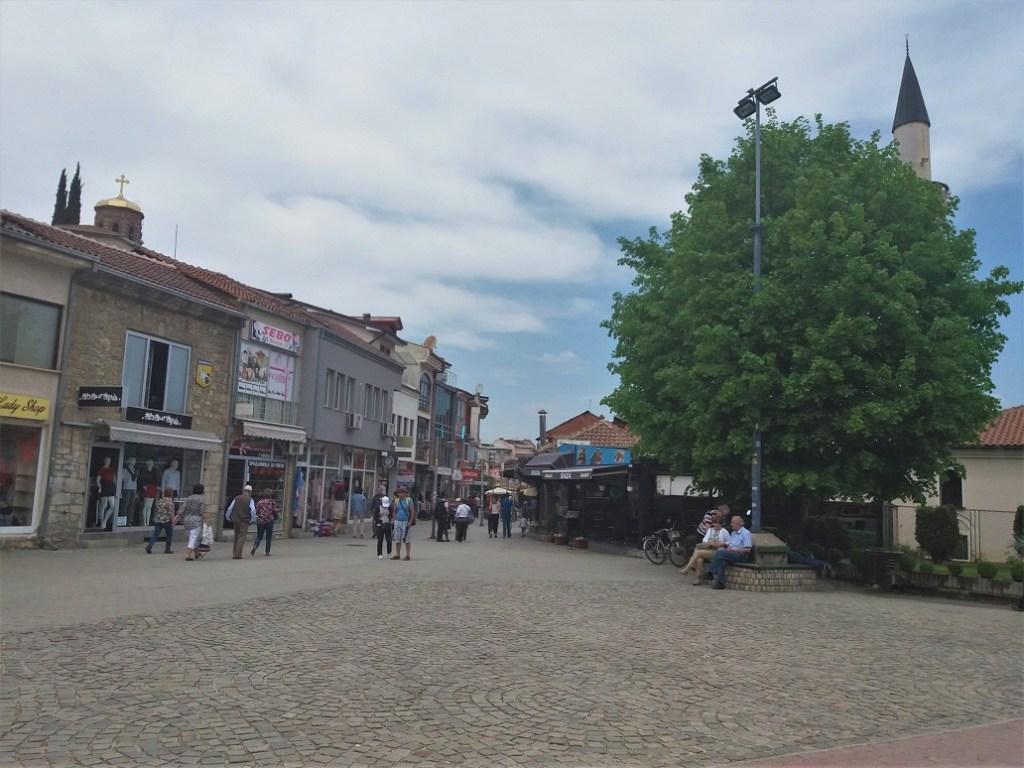 Ohrid Bazaar and Shopping streets