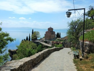 Sveti Jovan is one of many things to do in Ohrid Macedonia