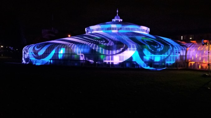 GlasGLOW in Glasgow Botanic Gardens