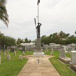 Memorial to the victims of the USS Maine Key West Cemetery
