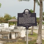 Key West cemetery sign