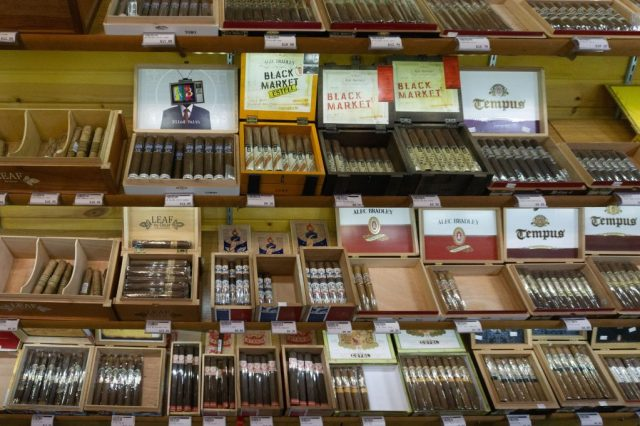 Cigar Shop Burley House Market Weston Missouri