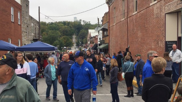 Applefest Celebration downtown Weston Missouri